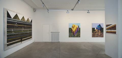 exhibition view at gallery Maksla XO
