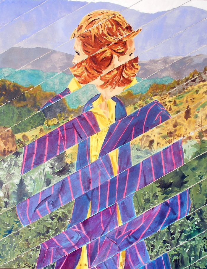 Traversée, 2011, 114x146cm, OIl on canvas, Castaignet